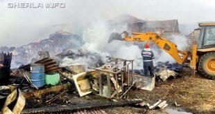 incendiu paglisa dabaca pompieri cluj