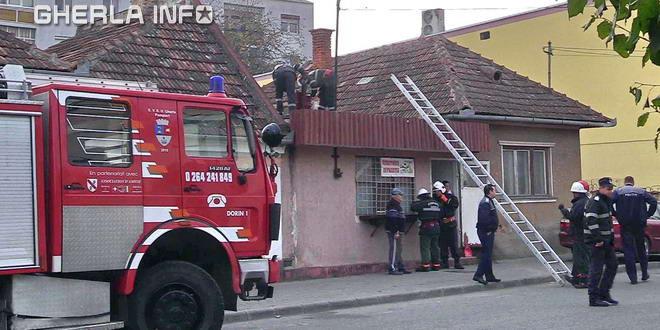 incendiu pompieri gherla dej