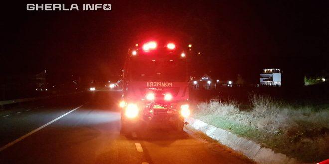 pompieri dej incendiu bunesti noapte