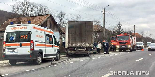 accident dej ambulanta pompieri cluj