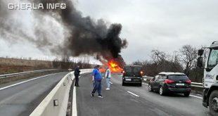 accident incendiu dumbrava cluj