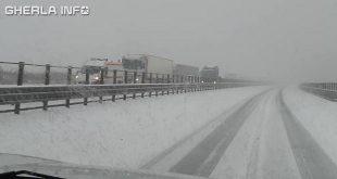 autostrada ninsoare zapada cluj sosea