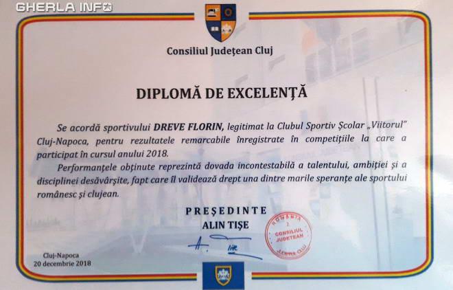 diploma florin dreve lupte livada