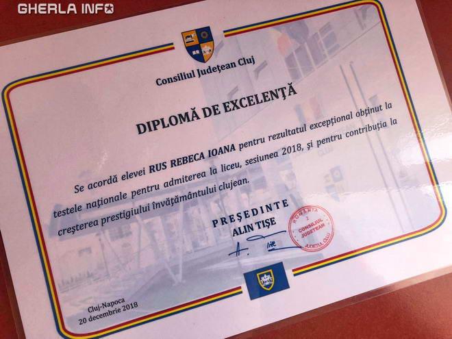 diploma rus rebeca gherla