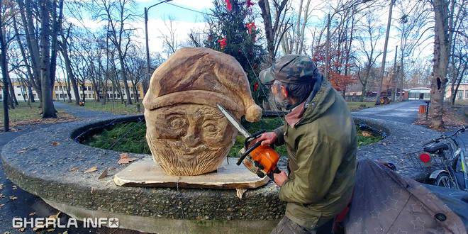 galgoczy sculptura mos lemn gherla