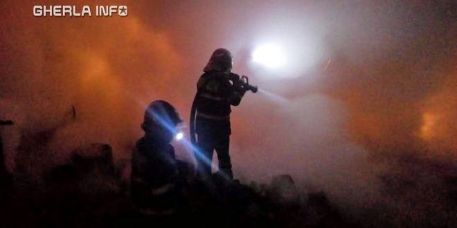 incendiu pompieri pata rat cluj