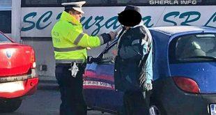 politie gherla control sofer etilotest