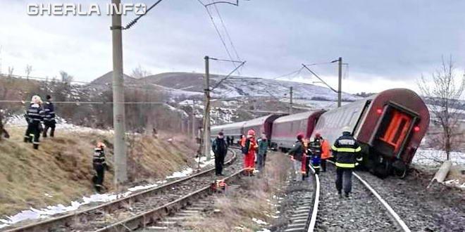 tren deraiat hunedoara baiesti