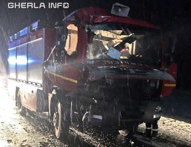 accident pompieri huedin bologa isu cluj