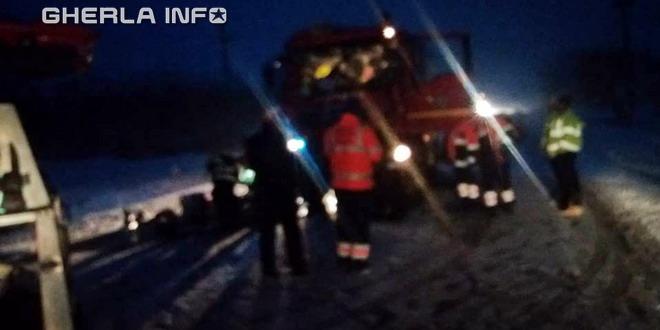 accident pompieri huedin bologa cluj