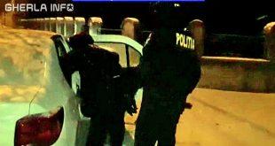 politie cluj iarna masina mascati