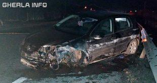accident livada volkswagen parapet