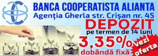 banca cooperatista alianta cluj gherla credit dobanda iclod bobalna dej