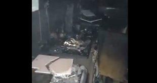 incendiu cluj apartament