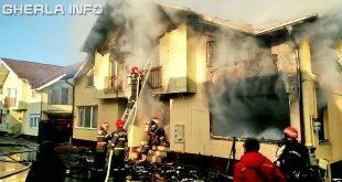 incendiu floresti cluj pompieri isu