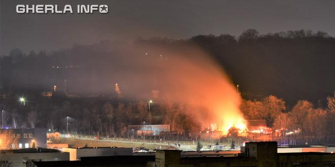 incendiu gradinita cluj