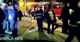 pompieri gherla dej spital incendiu