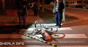 accident gherla bicicleta strada mintiului