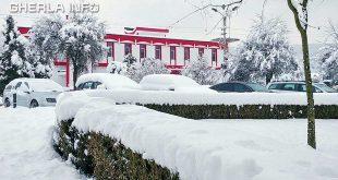 gherla gara iarna zapada