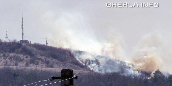 incendiu deal gherla