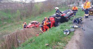 accident bobalna cluj pompieri
