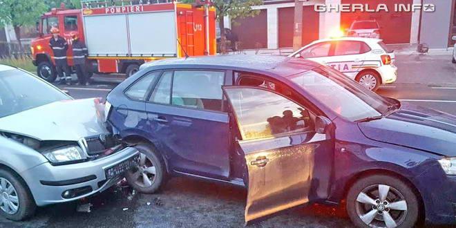 accident cluj politie pompieri