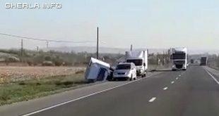 accident bontida rasturnat sant