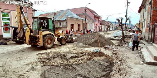 asfaltare gherla strada armeneasca