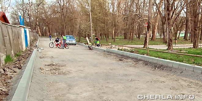 asfaltare gherla strada parcului