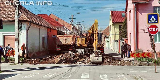 asfaltare gherla strad vasile alecsandri