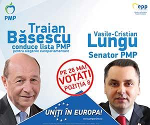 alegeri europarlamentare pmp traian basescu cristian vasile lungu