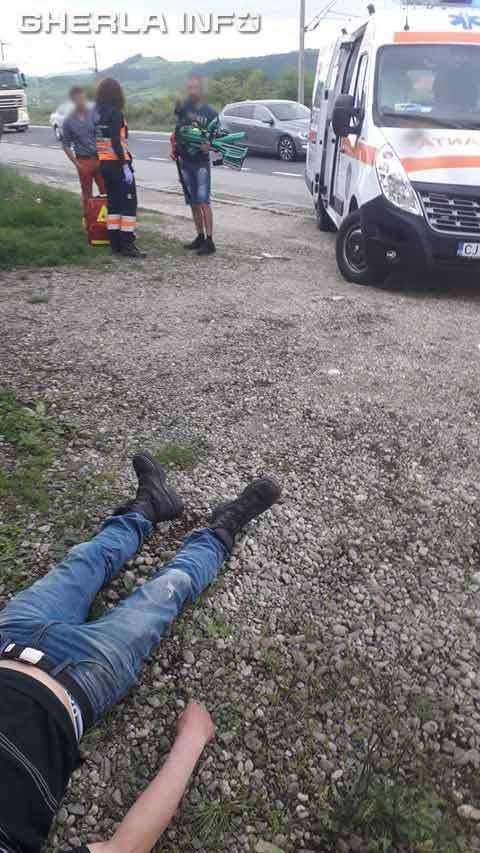 accident livada ambulanta gherla