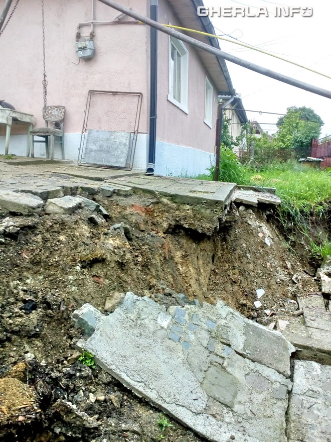 alunecare teren dej