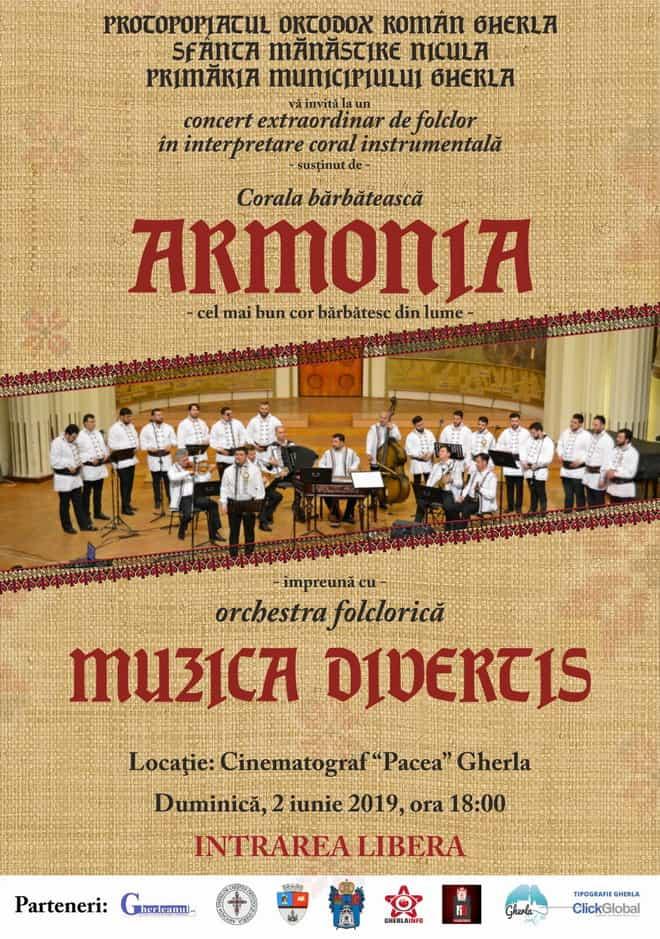corala armonia concert gherla