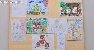expozitie desene copii gherla