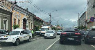 gherla politie ambulanta trafic
