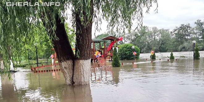 inundatie somes weekend dej terasa