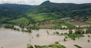 inundatii cluj dej romania catcau vad