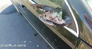 oglinda rupta masina