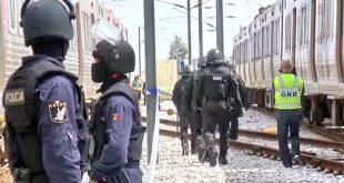 politie tren gara