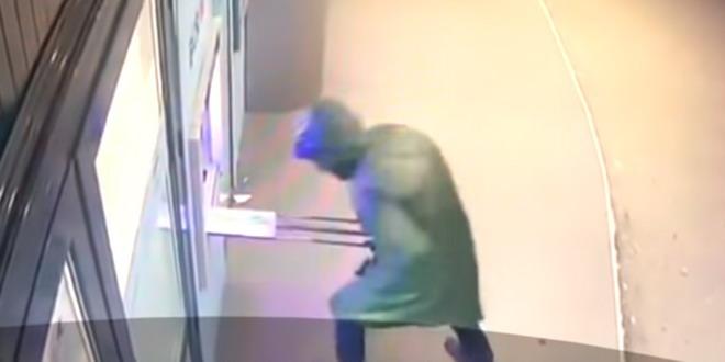 spargere bancomat