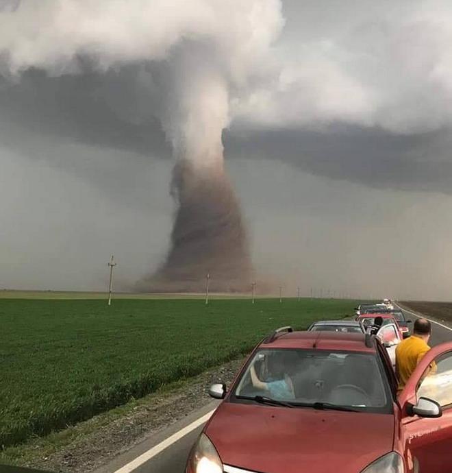tornada romania tornado