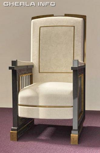 tron papa francisc scaun