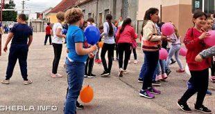1 iunie scoala gherla copii joaca