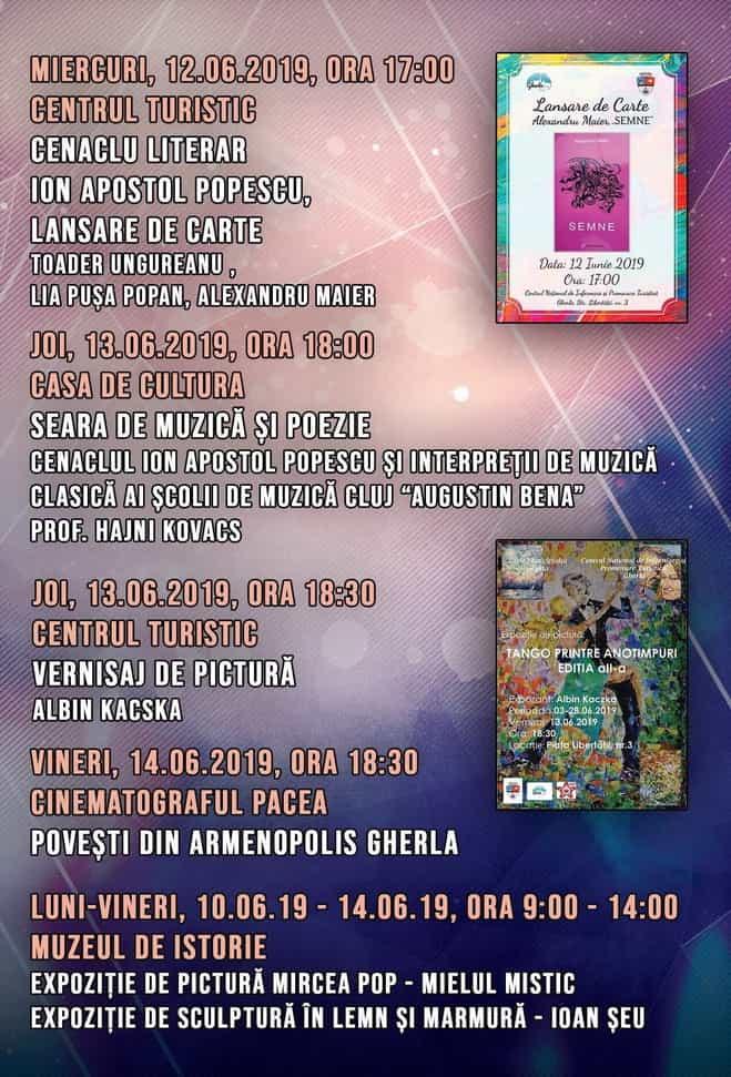 zilele municipiului gherla 2019 program