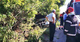 accident dej masina sant pompieri