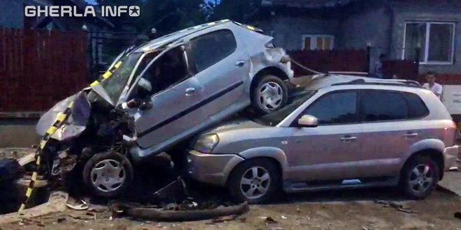 accident masina dezmir apahida cluj