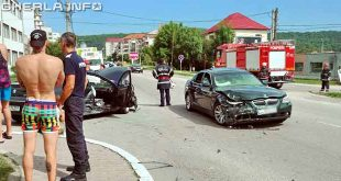 accident gherle petrom bmw peugeot