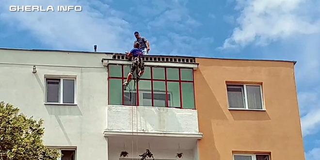 alpinist utilitar bloc gherla