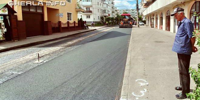 asfaltare gherla strada primaverii
